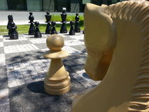 `-Schack`, Royaltyfri Bild