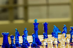 Schack - lek Royaltyfri Bild