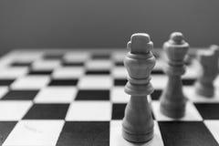 Schack-man Arkivbild