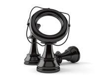 Schack med livbojet vektor illustrationer