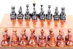 Schack ombord Royaltyfri Bild