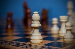 Schack på brädet Royaltyfri Fotografi