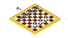 Schack-start position lager videofilmer