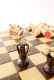 schackbegrepp Royaltyfri Fotografi