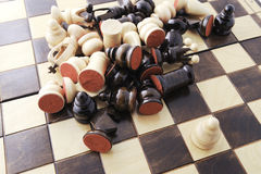 schackbegrepp Arkivbild