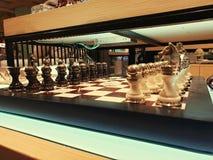 Schackbräde för dekor royaltyfri bild