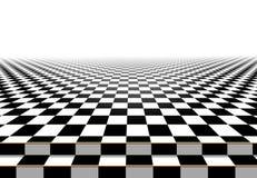 Schackbrädegolvbakgrund Abstrakt begrepp Fotografering för Bildbyråer