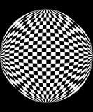 Schackbrädemodell arkivbild