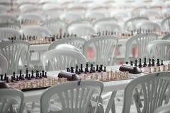 Schackbräden Arkivbilder