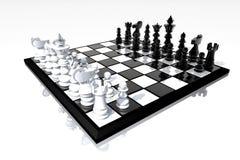 Schackbrädestilleben Royaltyfri Fotografi