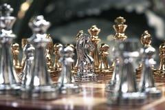 Schackbr?delek, konkurrenskraftigt begrepp f?r aff?r royaltyfri bild