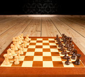 schackbräde Fotografering för Bildbyråer