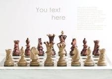 schackdiagram Royaltyfria Bilder
