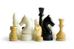 schackdiagram Royaltyfri Bild