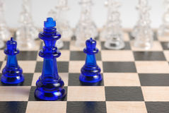 schackdiagram Arkivfoton