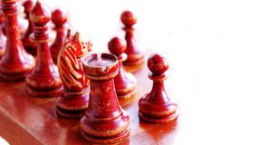 schackdiagram isolerade white Arkivbild