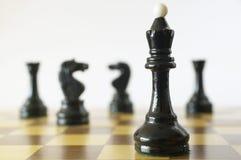 schackdrottning Arkivbild
