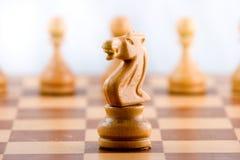Schacket figurerar royaltyfri bild