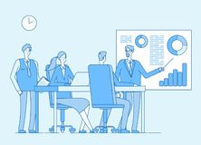 Schacket figurerar bishops Affärsfolk för företags kontor, yrkesmässigt arbete med vänner Samarbete planläggning vektor stock illustrationer