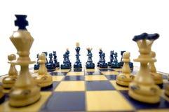 Schacket stiger ombord royaltyfria bilder