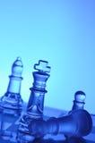 schackexponeringsglas Royaltyfri Bild