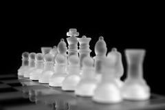 schackexponeringsglas Arkivbild