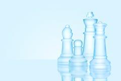 Schackfamilj royaltyfri bild