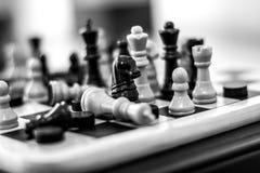 Schackflyttningar royaltyfri foto