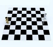 schackfolk för bräde 3d Fotografering för Bildbyråer