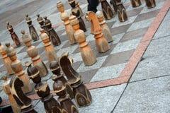 schackgata arkivbild