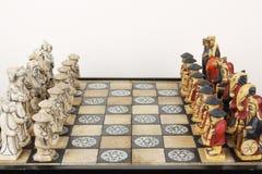 schackkines Royaltyfri Fotografi