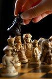 schackkines Arkivfoto