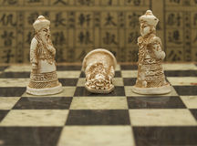 schackkines Arkivfoton