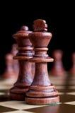 schackkonung Royaltyfri Bild
