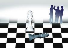 schackkonung Royaltyfria Foton
