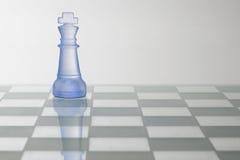 schackkonungstycke Royaltyfria Bilder