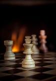 Schackmatch Arkivbild
