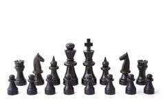 schackmatch Royaltyfria Bilder