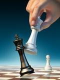 schackmatt Arkivfoto