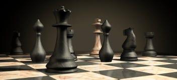schackmatt Arkivbilder