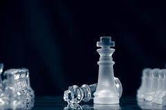 schackmatt kapitulation Royaltyfri Fotografi