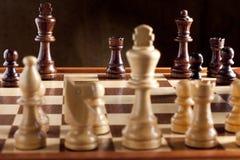 schackmattt schack Royaltyfri Fotografi