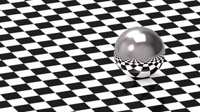 schackmodellsphere royaltyfri illustrationer