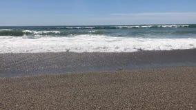 Schackningsperiod för Alanya strandtid arkivfilmer
