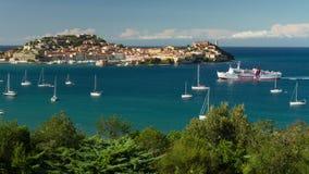 schackningsperiod för tid 4K, Isola d'Elba, Italien lager videofilmer