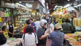 schackningsperioden för 4K POV Tid går sikt på den Kina stadgatan nära den Khao San vägen, en populär destination och nattmarknad lager videofilmer