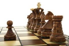 schacksammansättning Arkivfoton