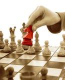 schacksammansättning Royaltyfri Foto