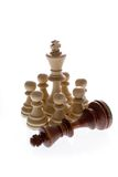 schacksammansättning royaltyfria foton