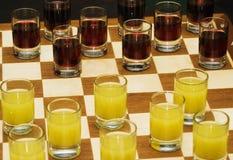 schackset Royaltyfria Foton